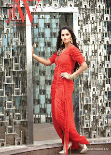 Sania Mirza Photoshoot for JFW Magazine