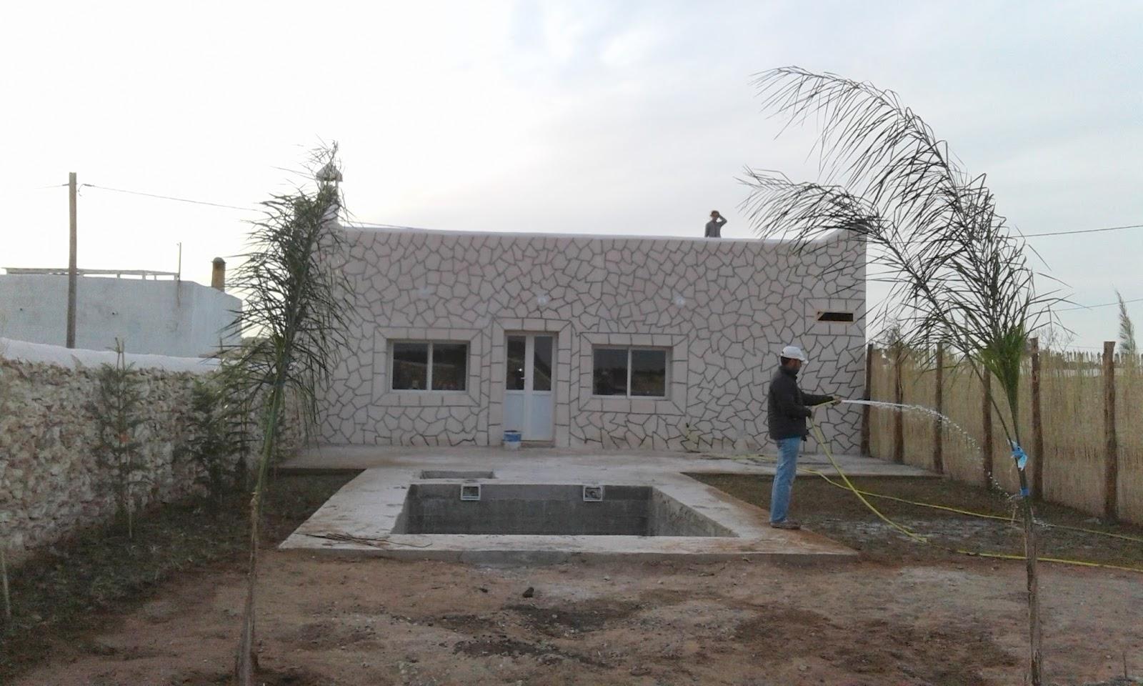 Maison de campagne style marocain for Style de maison