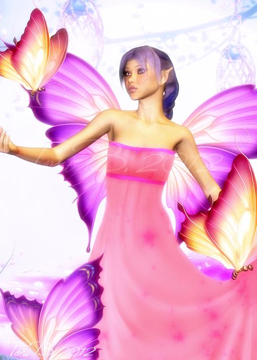 Sorbet by Tori Beveridge Fairy ACEO