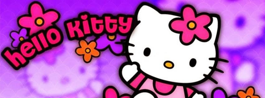 Portadas para facebook: Hello kitty portada facebook