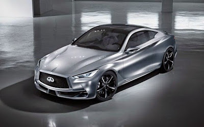 2016 Infiniti Q60 Coupe Front View Model
