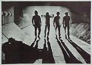 Poster La Naranja Mecánica Tunel