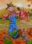 Scarecrow Buddies Flag