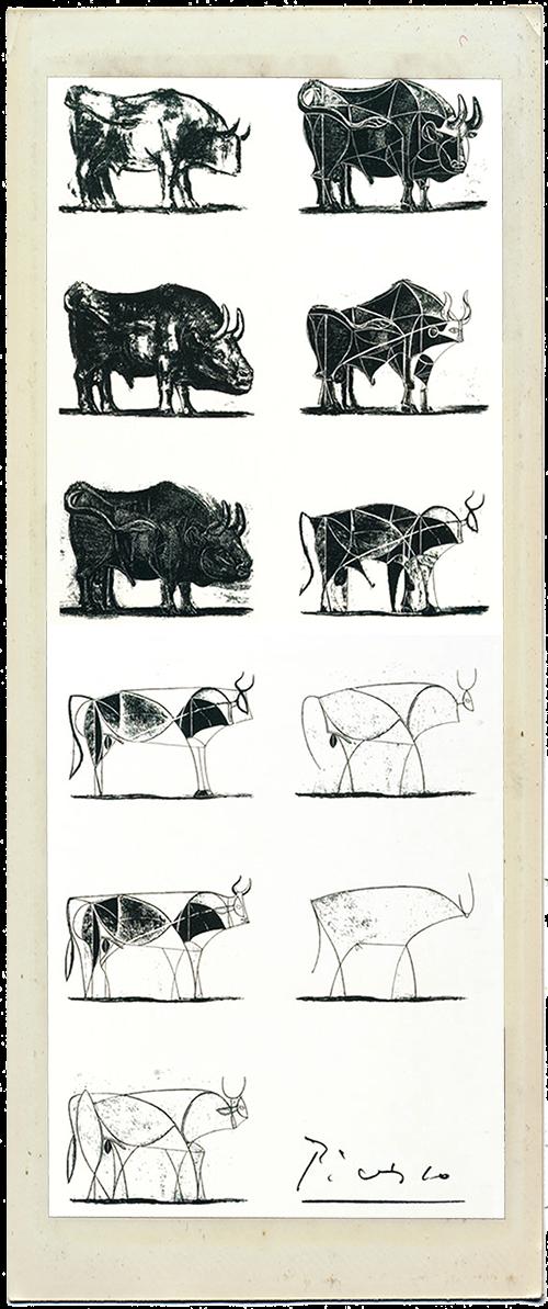 Picasso Print Fabric Vintage Clothing Prints www.vintagelovebygigi.com