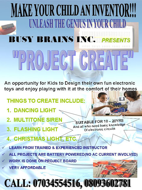 make your child an inventor of electronic circuits
