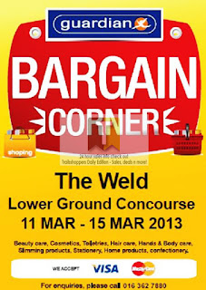 GUARDIAN Bargain Corner Sale 2013
