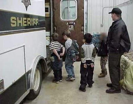 La scuola americana con polizia propria