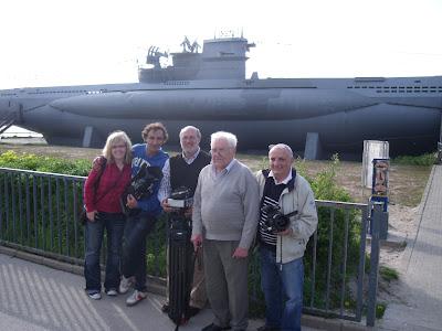 Mit Ernst Peter, Überlebenden des 1943 gesunkenen U Boot vor Calpe   Erlebnisse von Judith Finsterbusch mit Regisseur Fernando Navarrete