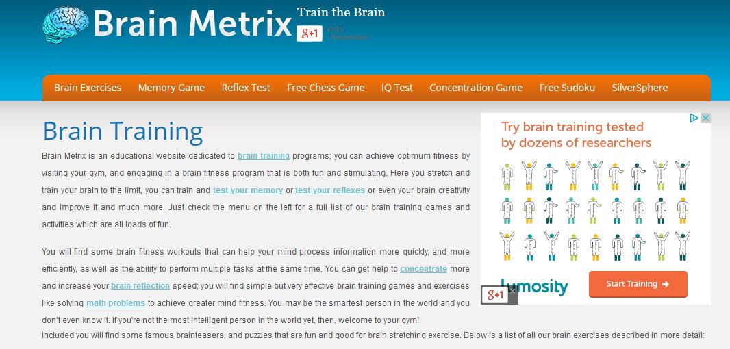 موقع brainmetrix