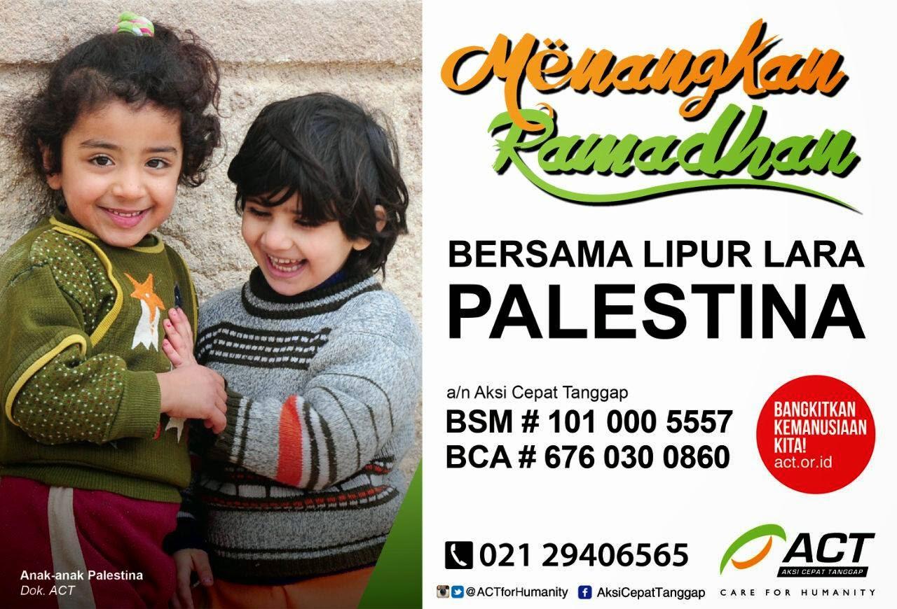 Mari Bantu Palestina
