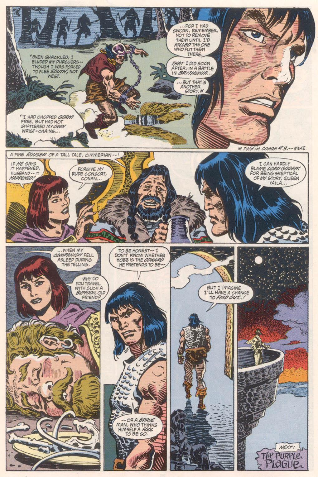 Conan the Barbarian (1970) Issue #254 #266 - English 23