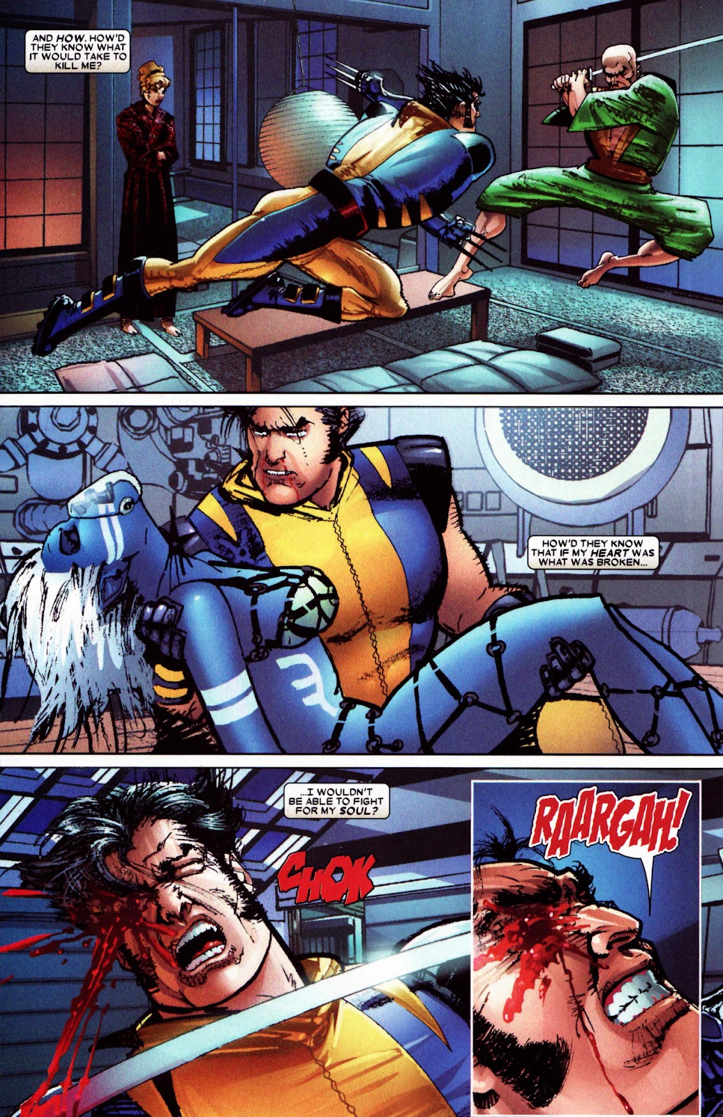 Read online Wolverine (2003) comic -  Issue #61 - 8