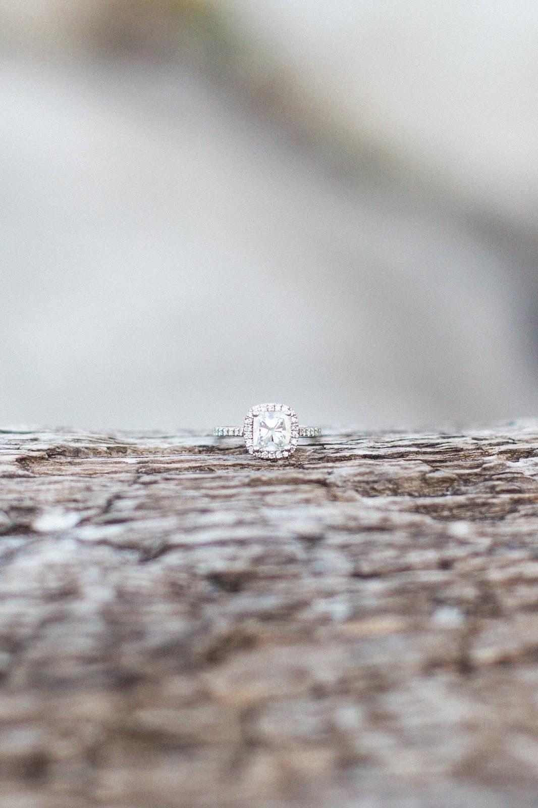 beautiful halo cushion cut diamond ring
