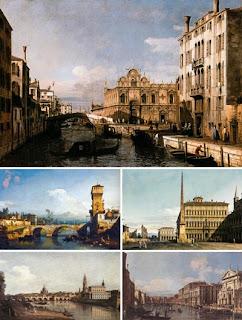 Городские пейзажи Бернардо Белотто