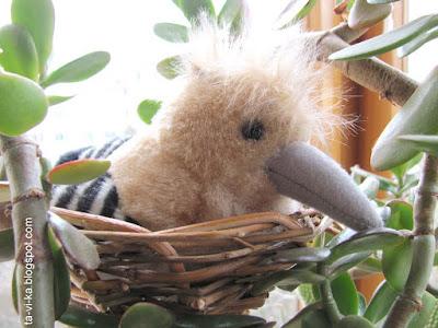 игрушечное гнездо