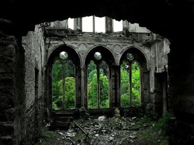 Salão Hafodunos em Llangernyw, North Wales
