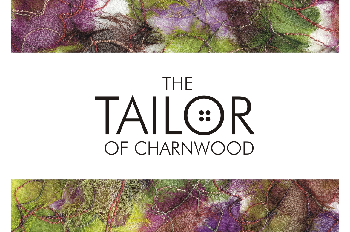 Tailor of charnwood the logo was a present from my partners friend who runs a graphic design company in nottingham the background is silk organza dyed cut overlaid and magicingreecefo Gallery