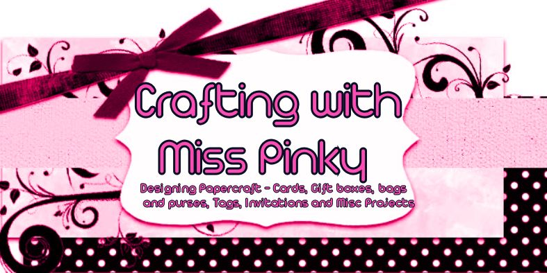 Crafting with Miss PInky