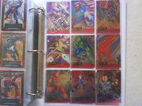 1995 Marvel Metal Complete Set of 18 Silver Metal Blaster CHASE SET