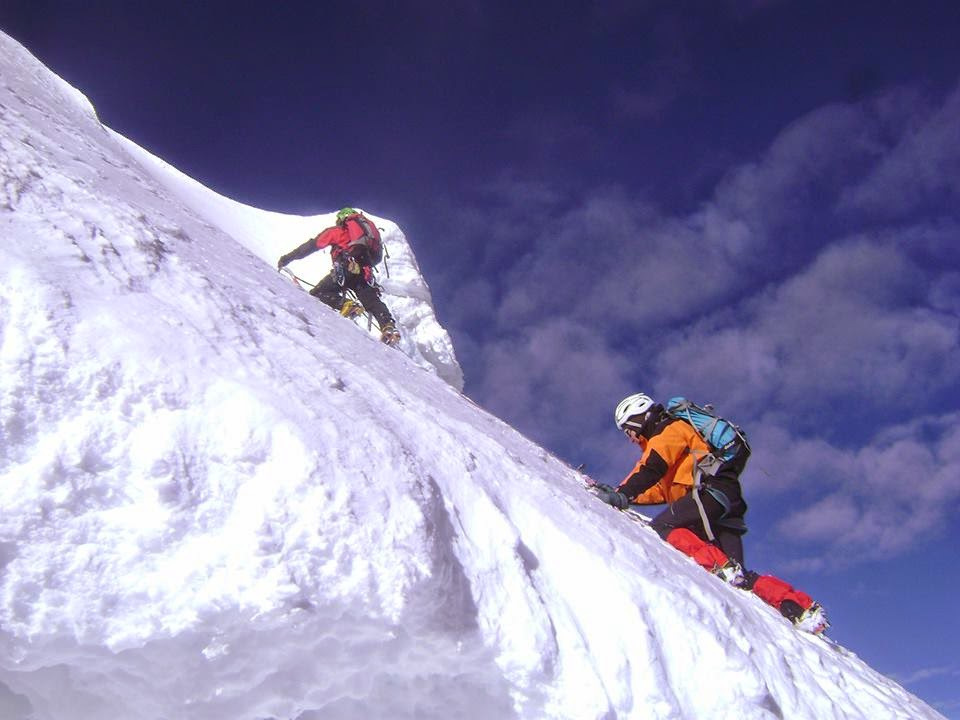 Cordillera Blanca Climbing Peru