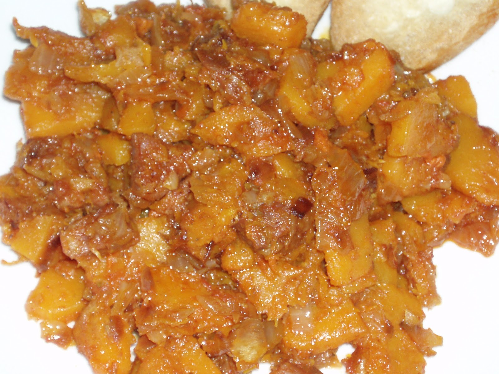 Al alim n calabaza frita for Calabaza frita