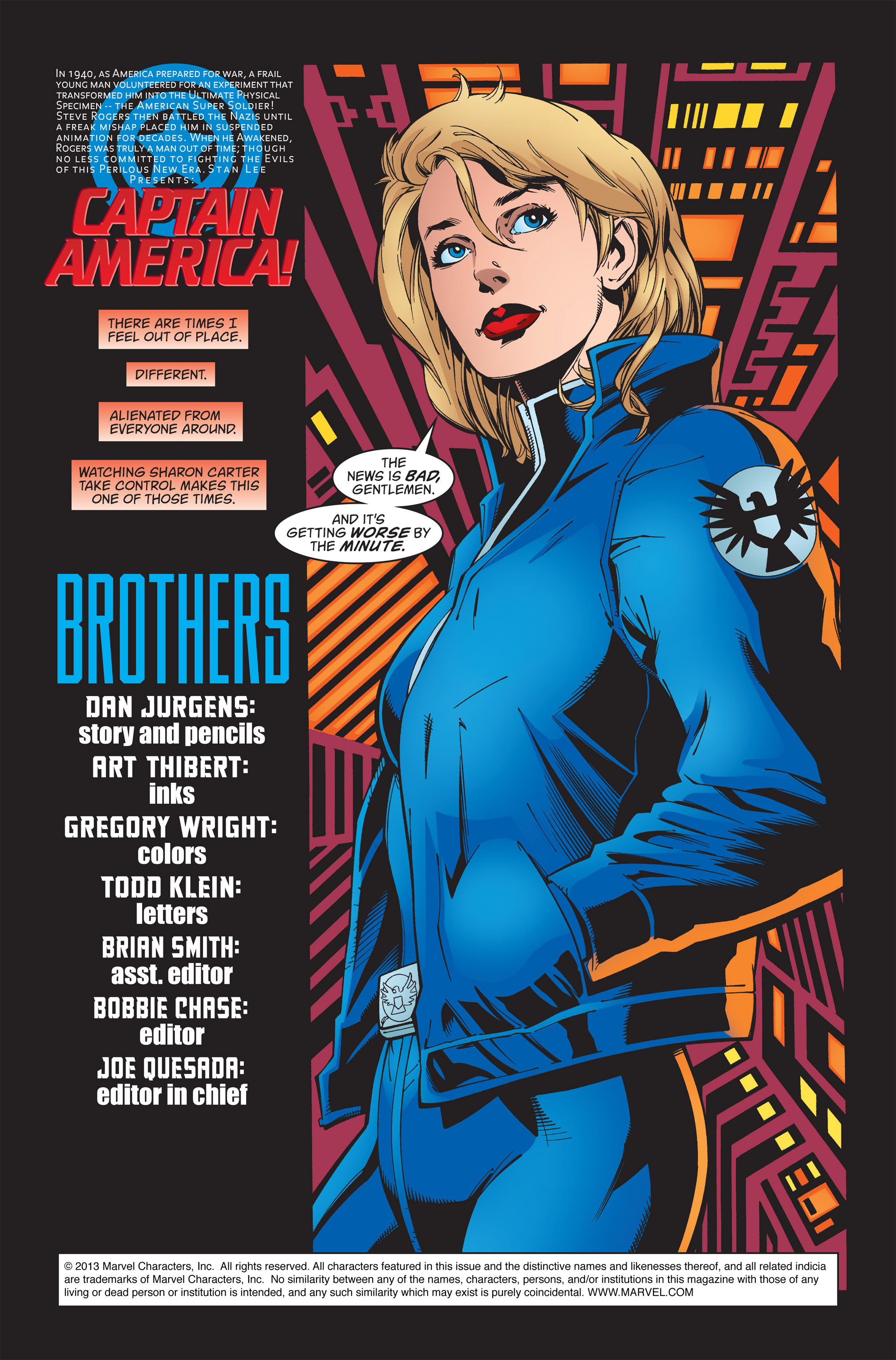 Captain America (1998) Issue #37 #44 - English 2