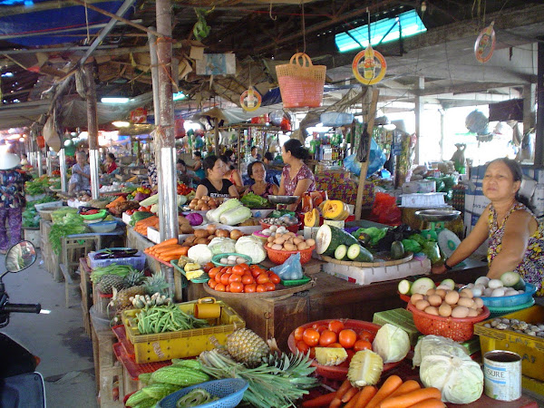 Mercado de Hoi An (Cho Hoi An). Vietnam