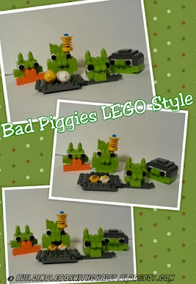 Angry Birds LEGO Creation, Bad Piggies, #LEGO Creations