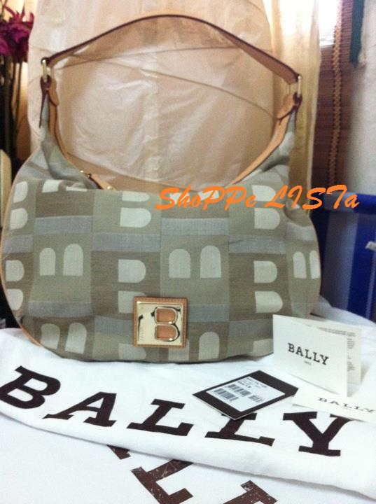PRELOVED Bally Basita hobo bag