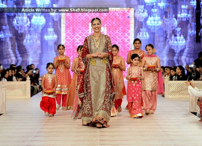 Karma Bridal Wear at PFDC Bridal Week 2014 Day-1