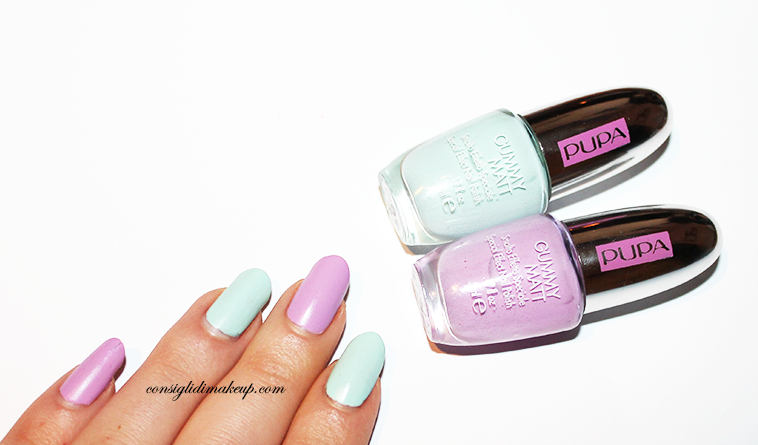 recensione swatches gummy matt pupa sporty chic