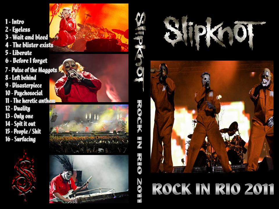 Download Show Do Slipknot No Rock In Rio 2011