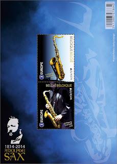EUROPA CEPT 2014 - Dedicado a los instrumentos musicales BE-14