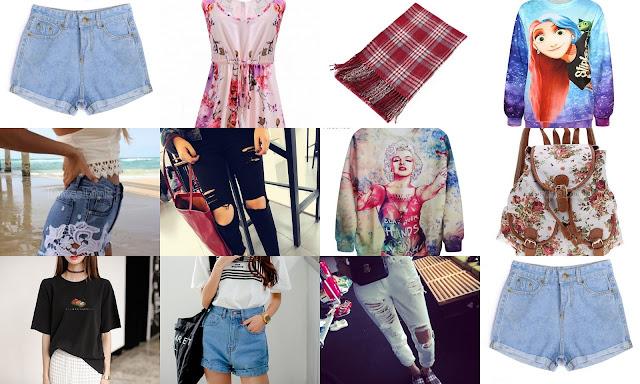 Ubrania ze sklepu dresslink.com, które najbardziej przykuły moją uwagę.