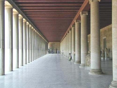 Architecture histoire patrimoine l architecture de la for Architecture grec