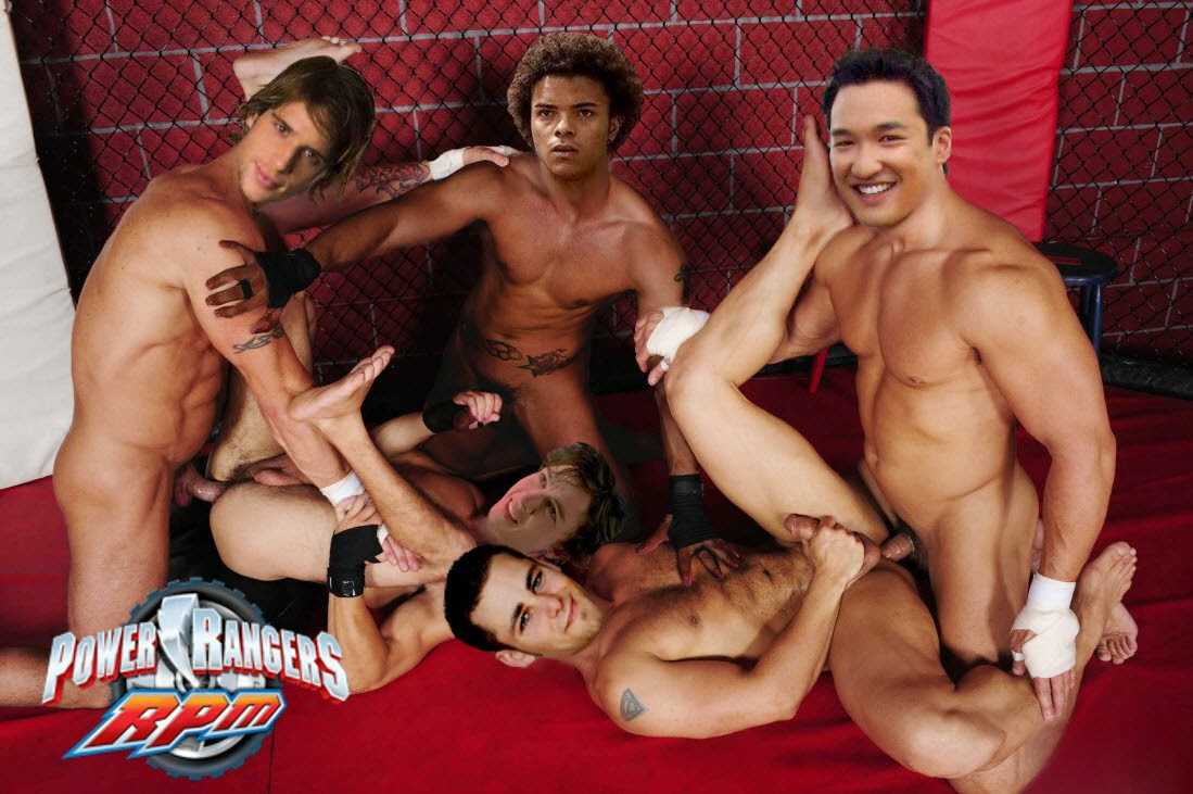 morphin gay naked rangers fakes Mighty