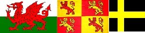 The Flags of Wales (click on picture.)