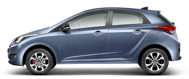 Hyundai HB20 2016 R-Spec - Azul Metálico