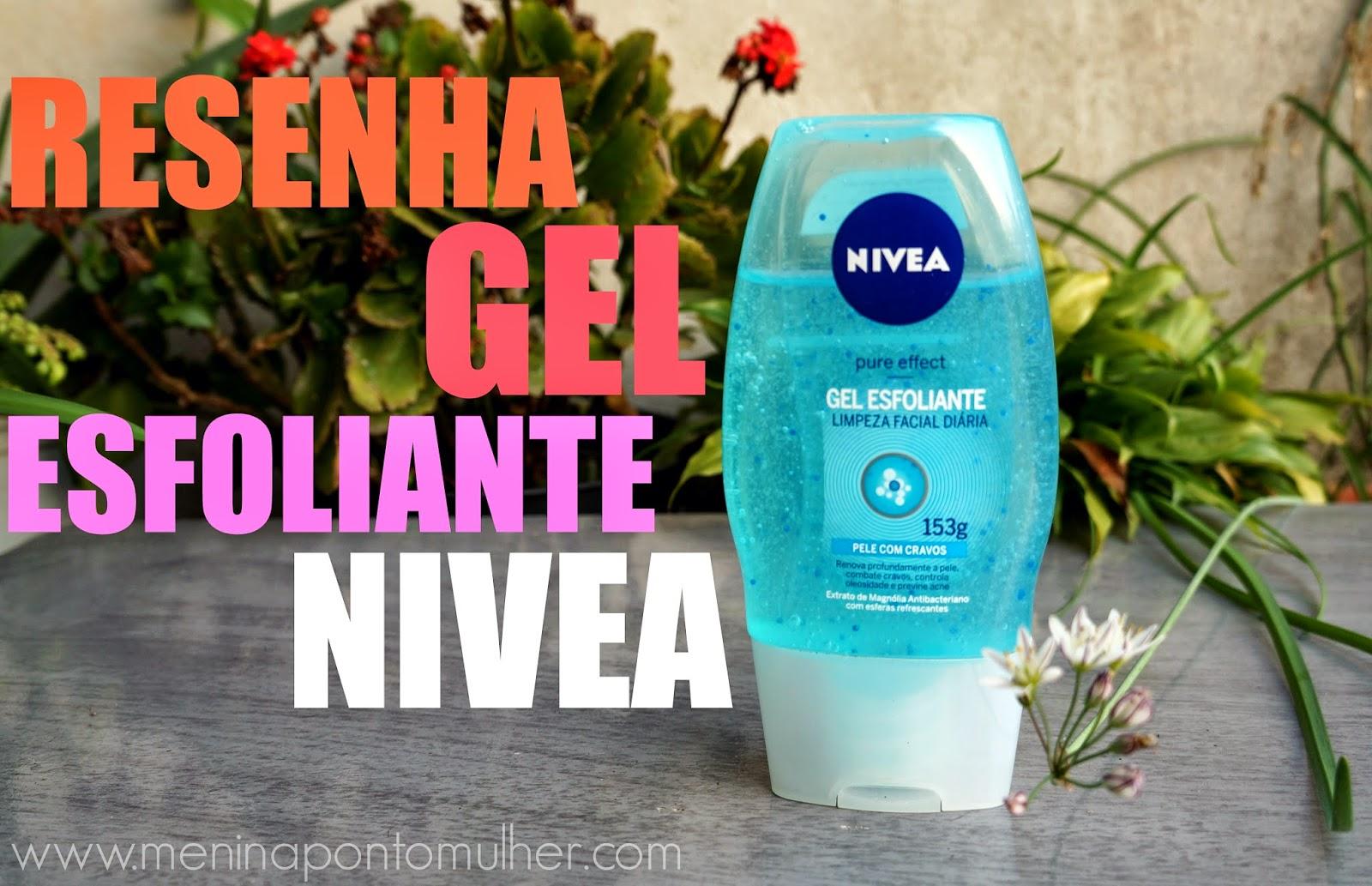 Menina Mulher RESENHA || Gel esfoliante Nivea