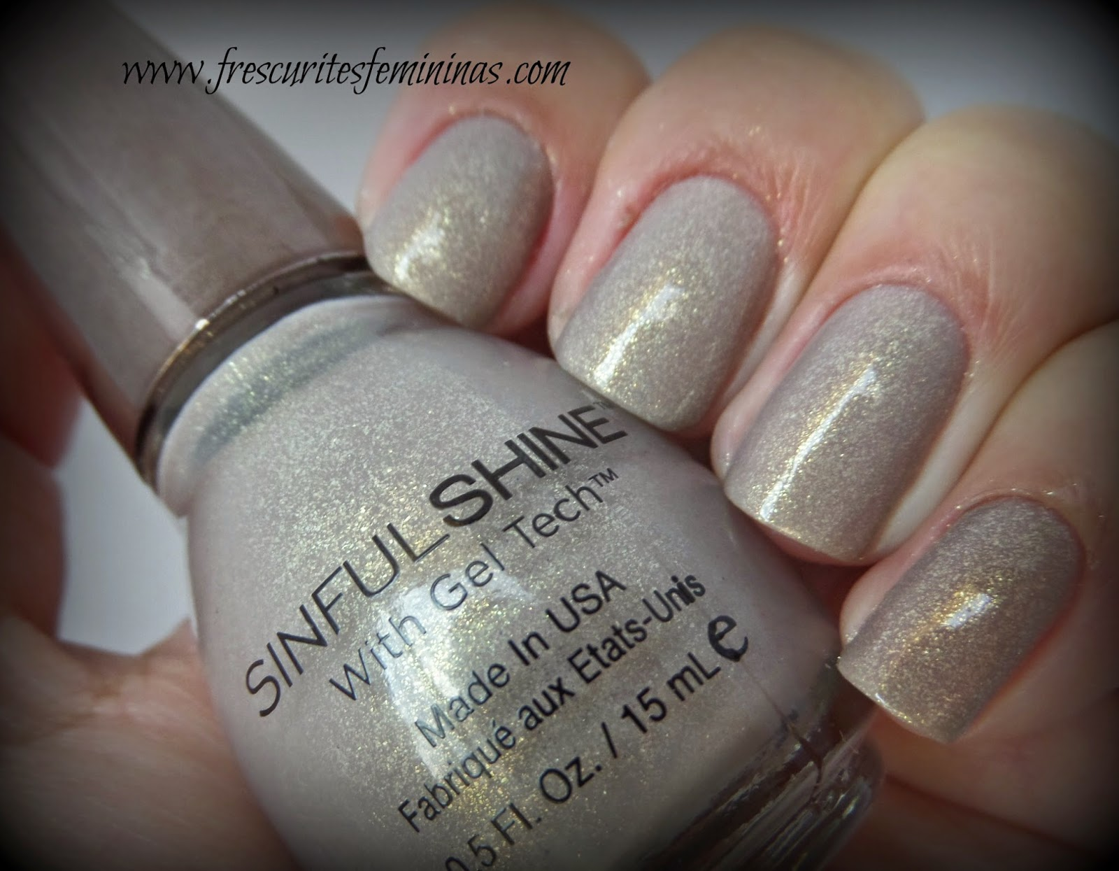 Sinfulshine, sinfulcolors, sinful shine, Prosecco, gel tech, frescurites femininas