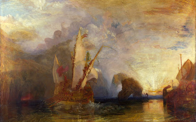 William Turner Ulisse schernisce Polifemo