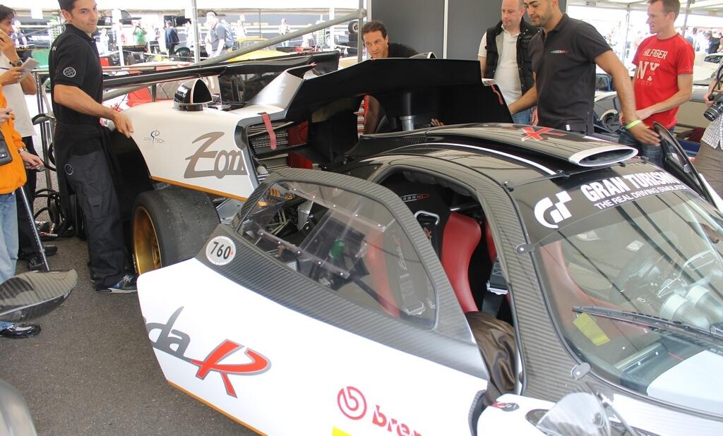 Car News Goodwood 2012 Pagani Zonda R Evolution On Car News