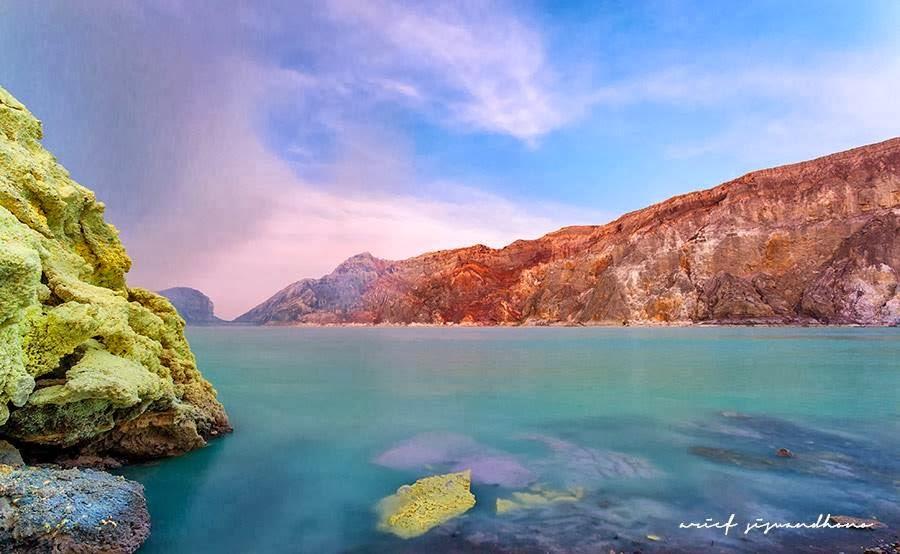 Wisata Danau Kawah Ijen Banyuwangi