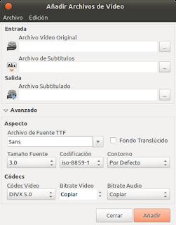 Cómo poner subtitulos a los vídeos en Ubuntu