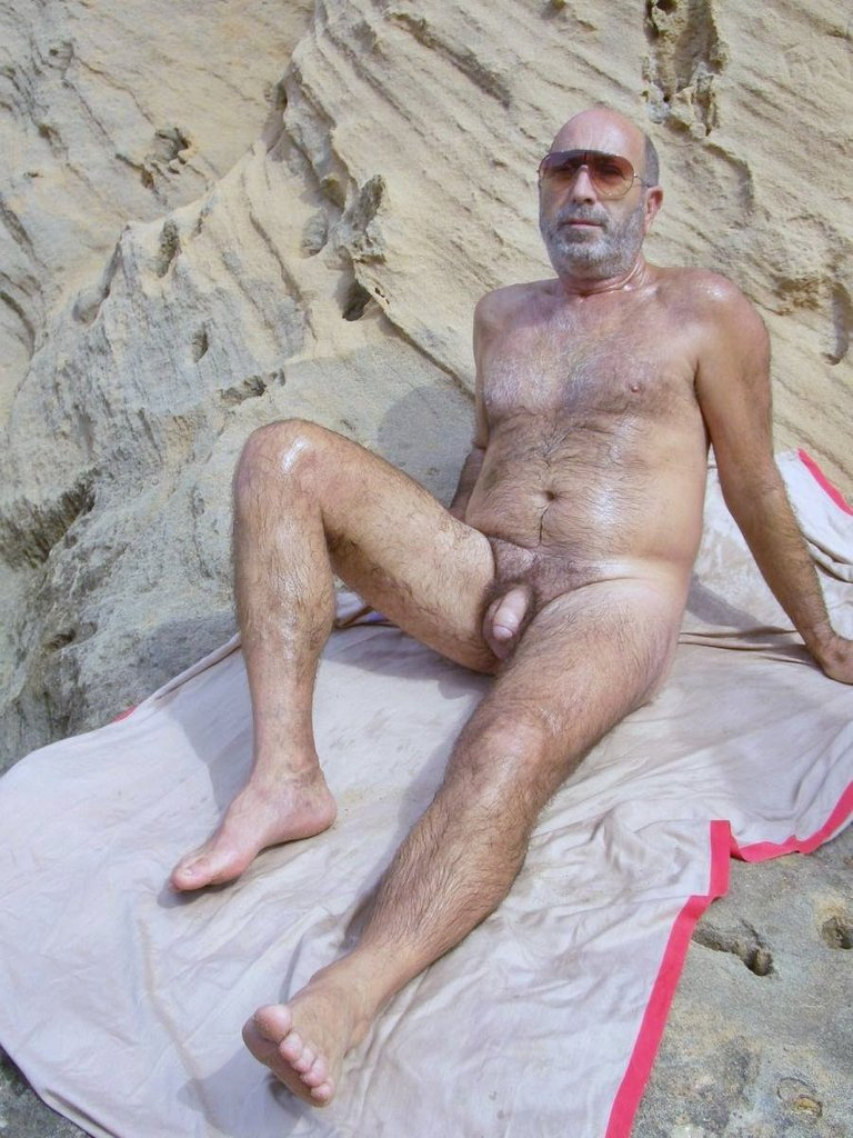 Think, Hairy nude older men were visited