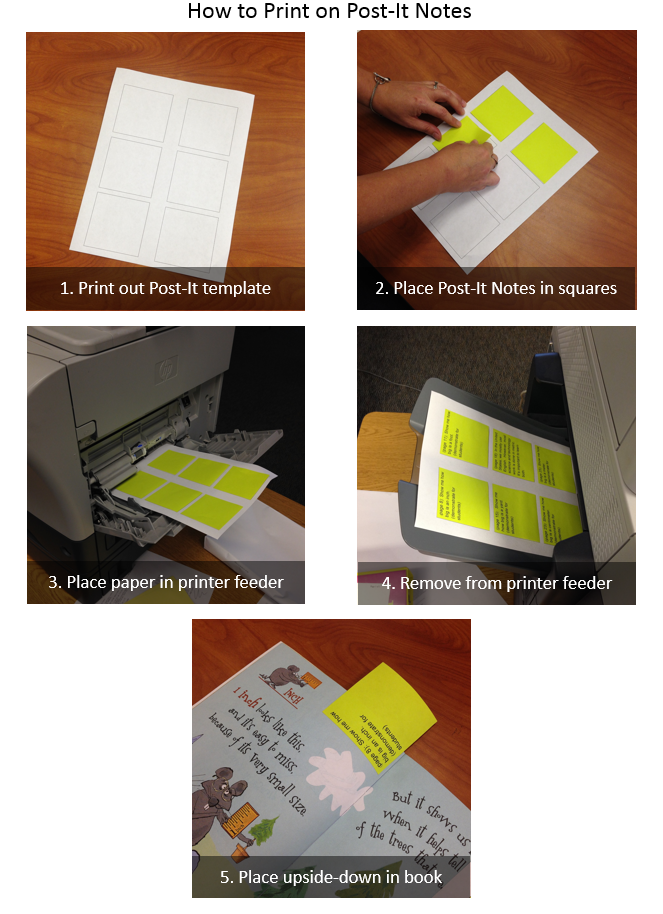 how to use sticky notes