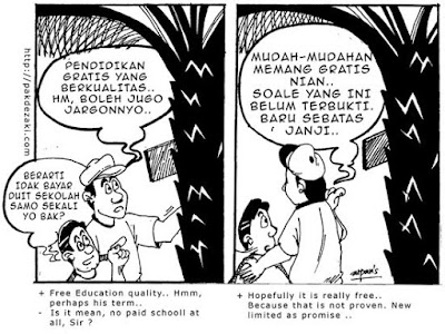 Mang Badar, Comic as Campaign Tool