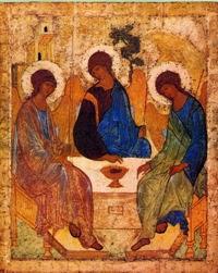Η ελπίς μου ο Πατήρ,, καταφυγή μου ο Υιός, σκέπη μου το Πνεύμα το Άγιον, Τριάς Αγία Δόξα Σοι