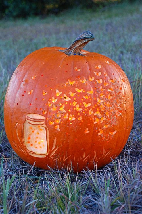 Fireflies Pumpkin