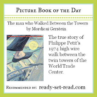 the man who walked between the towers, skywire, picture books